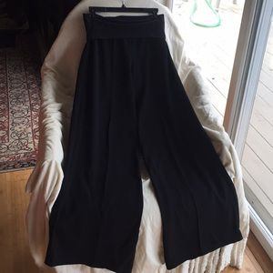 ATM Wide Leg Fold Over Pants Never Used